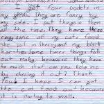 Jordyn's Pockets Children's Letter
