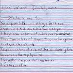 Hop's Pockets Children's Letter