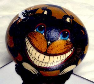 Cheshire Cat Close Up