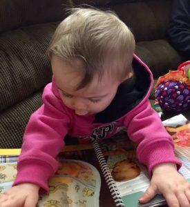 Child Reading Pockets