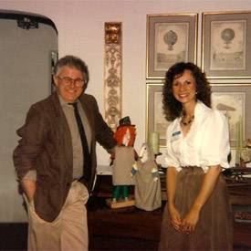 Tomie dePaola with Mary Alice Deveny